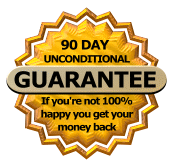 Joint Venture Magic Workshops 100 Percent Money Back Guarantee Badge